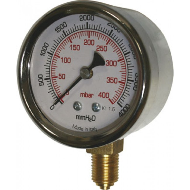Manomètre vertical à capsule - spécial gaz DISTRILABO