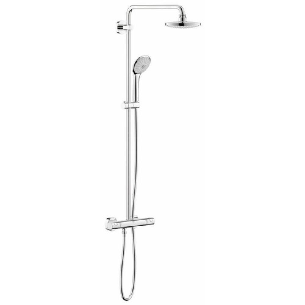 Colonne de douche avec mitigeur euphoria system 260 - Thermostatique douche grohe ...