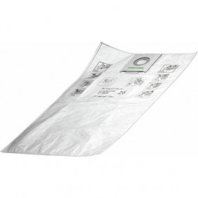 Sac filtre toile - pour aspirateur CTL 26 E - SC-FIS-CT 26/5 FESTOOL
