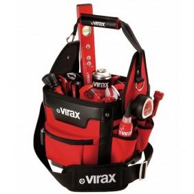 Sac porte-outils textile pour plombier résistant à l'eau - 382655 VIRAX