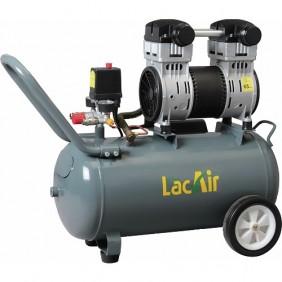 Compresseur à piston sans huile 40 litres 1,5 CV - Silent 12/40SH Lacmé
