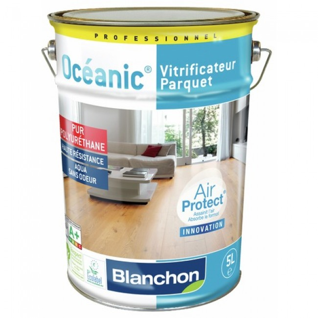 Vitrificateur parquet - purificateur d'air - Océanic® Air Protect® BLANCHON