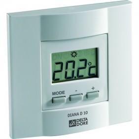 Thermostat filaire et électronique - écran digital - Diana 10 - DELTA DORE