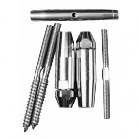 Kit de pose - pour câble de garde corps - support briques ou bois IGS