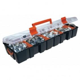 Coffret de 85 colliers de serrage à bande ajourée SERFLEX