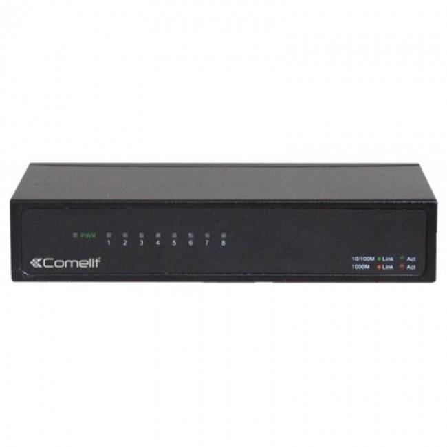 Switch de réseau Gigabit Comelit immotec