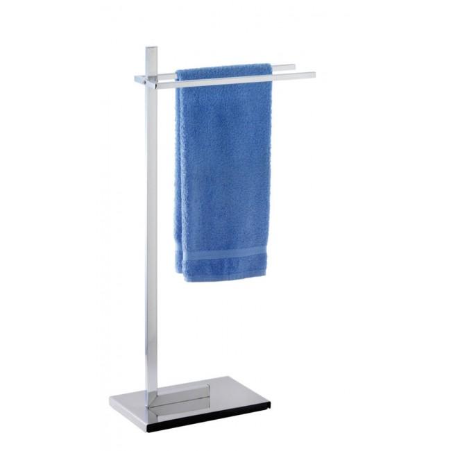 Porte-serviettes à poser - 2 barres fixes - Quadro WENKO