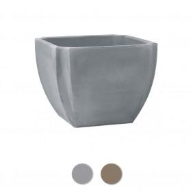 Bac à fleurs carré - 110 litres - Palmea 13901 EDA PLASTIQUES
