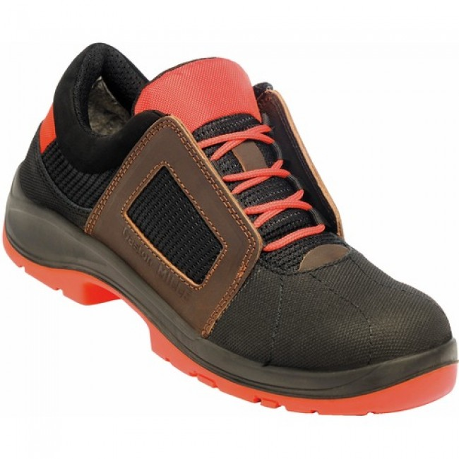 Chaussures Air Lace orange S1P SRC Gaston Mille