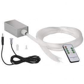 Kit d'éclairage - fibre optique - télécommande - SkyLight RGB - LED PAULMANN