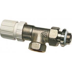Corps de robinet thermostatique équerre inversé - filetage 12x17 RBM