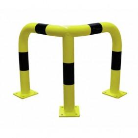 Barrière de sécurité - acier - à platine - pour protection d'angle VISO