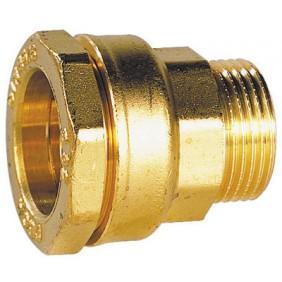 Raccord laiton à serrage extérieur droit mâle pour PE série fer SFERACO