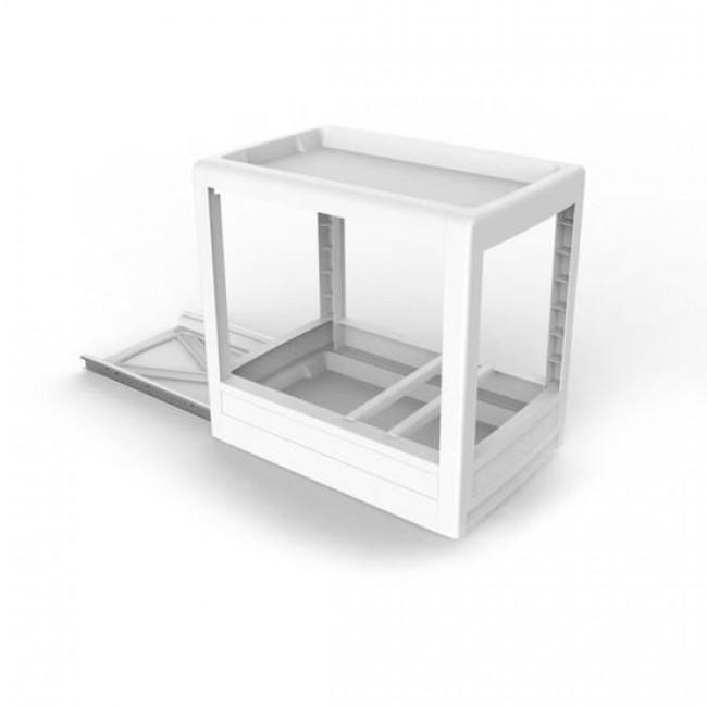 Rangement coulissant pour meuble bas - Mobilo EDA PLASTIQUES