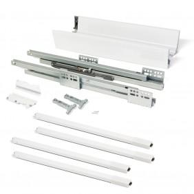 Kit tiroir Vantage-Q - hauteur 204 mm - acier blanc EMUCA