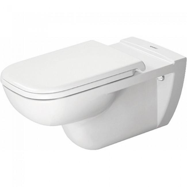 Cuvette wc suspendue céramique - à fond creux - D Code Vital DURAVIT