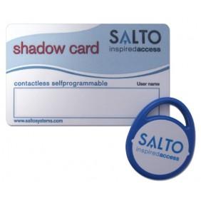 Badge + carte d'effacement - pour contrôle d'accès XS4 SALTO