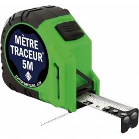 Mètre ruban traceur - longueur 5 mètres JSTH