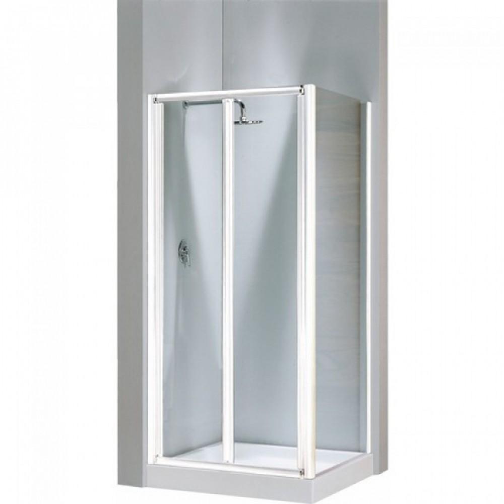 Porte de douche pliante verre transparent lunes s 66 for Porte de douche pliante