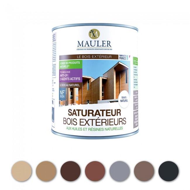 Saturateur bois extérieur naturel Mauler