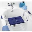 Siège de baignoire - Aluminium - Largeur extensible 55 à 65 cm WENKO