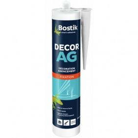 Colle mastic d'agencement - cartouche 310 ml - Décor AG BOSTIK