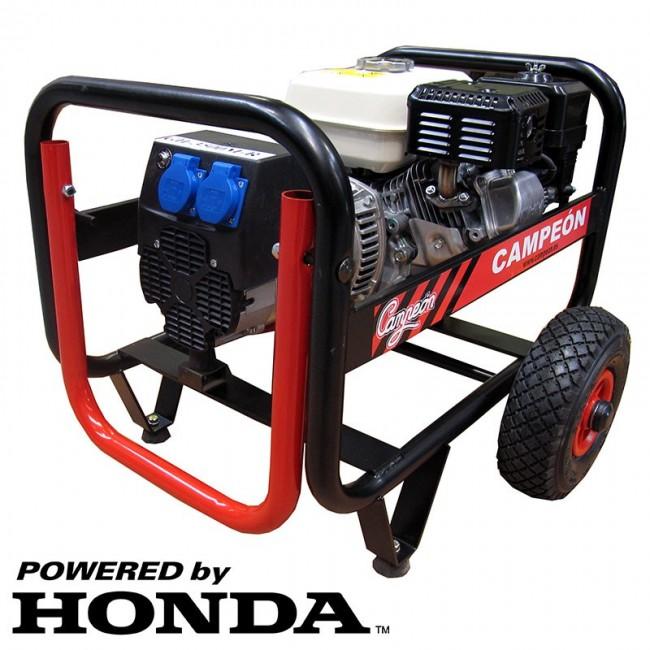 Groupe électrogène 4 temps moteur Honda 2400 W GH-3500M CAMPEON