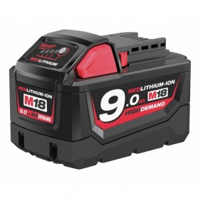 Batterie lithium-ion 18 V-9 Ah M18 MILWAUKEE