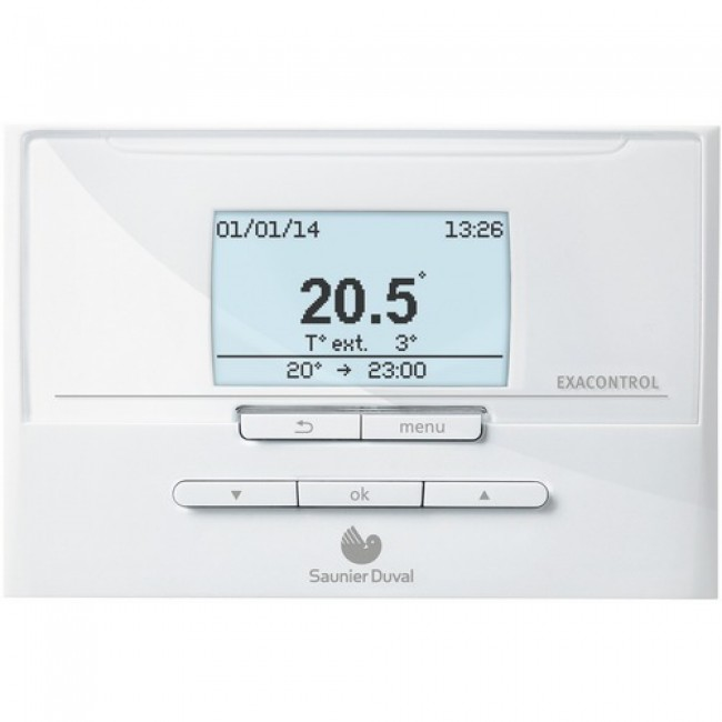 Thermostat d'ambiance programmables Exacontrol E7 SAUNIER DUVAL