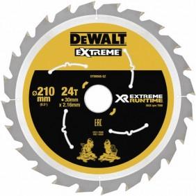Lames de scie à table-diamètre 210 m-XR Extreme Runtime DEWALT