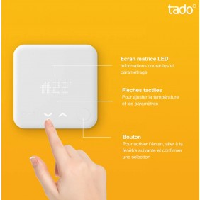 Thermostat intelligent V3 - kit de démarage TADO