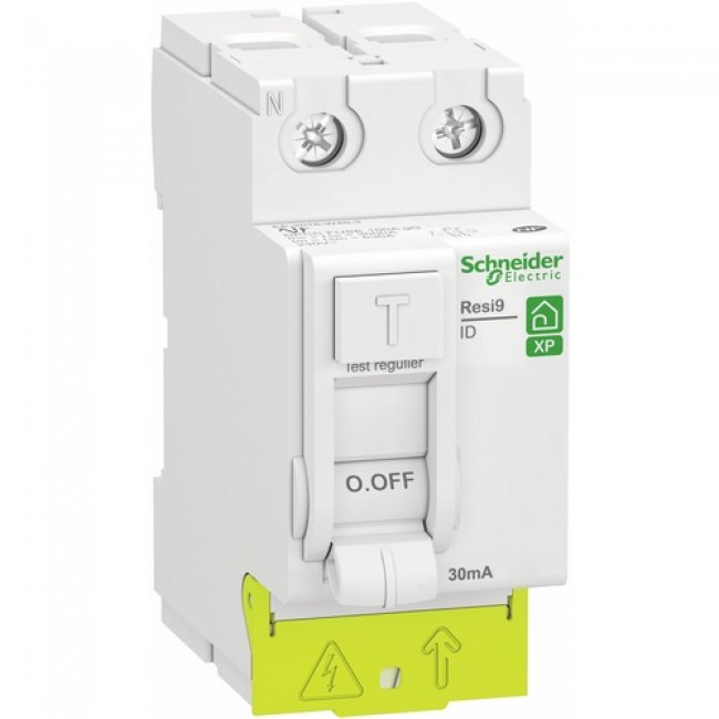 Interrupteur différentiel bipolaire peignable - Resi9 XE SCHNEIDER