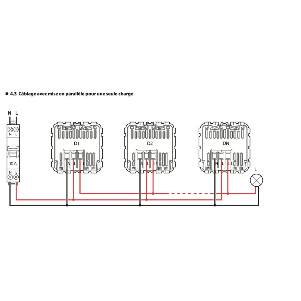 interrupteur automatique 3 fils sans fonction marche arr t c liane legrand bricozor. Black Bedroom Furniture Sets. Home Design Ideas