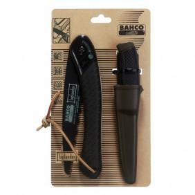 Kit scie arboricole pliable + couteau BAHCO