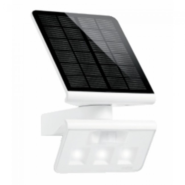 projecteur ext rieur solaire d tecteur mouvement led xsolar l s steinel bricozor. Black Bedroom Furniture Sets. Home Design Ideas