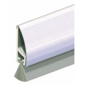 Plinthe en applique à brosse de bas de porte type PDS - B - Inox ELLEN