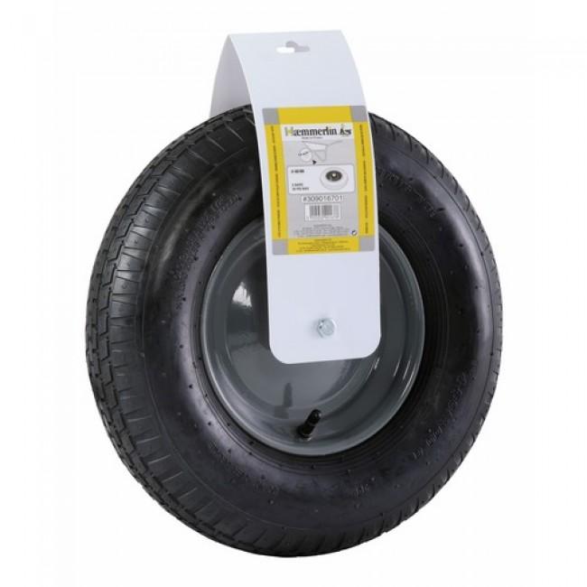 roue de brouette gonflable diam tre 400 mm pf154 haemmerlin bricozor. Black Bedroom Furniture Sets. Home Design Ideas