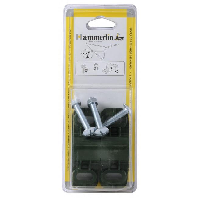 Coussinets polyamide de brouette diamètre 21 mm HAEMMERLIN
