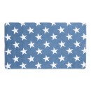 Tapis antidérapant - Stella bleu foncé - bain ou douche WENKO