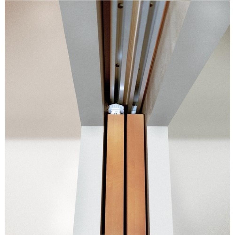 Système Porte Coulissante Télescopic Vantail Kg HAWA Bricozor - Porte coulissante 3 vantaux