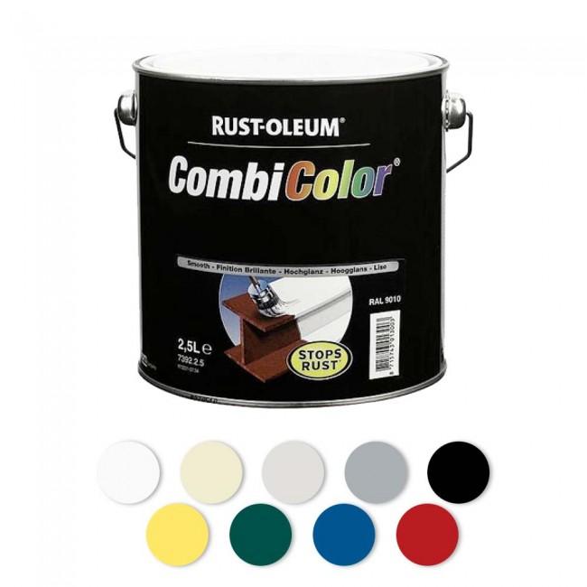 Peinture antirouille - métal brillant - CombiColor® RUST-OLEUM