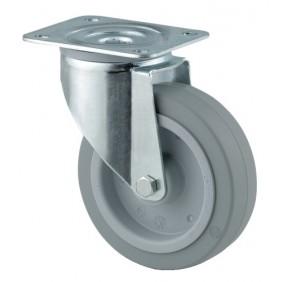 Roulettes pivotantes industrielles - fixation platine - Série 3470 UFR TENTE