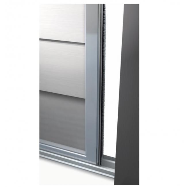Joint adh sif brosse velours pour portes de placard 7 5m for Adhesif de porte
