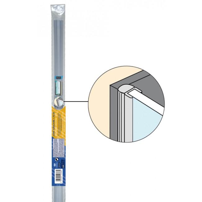 Joint PVC pour côté de porte de douche/baignoire GEB