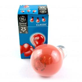 Ampoule classic rouge 25 W - culot E27 GENERAL ELECTRIC