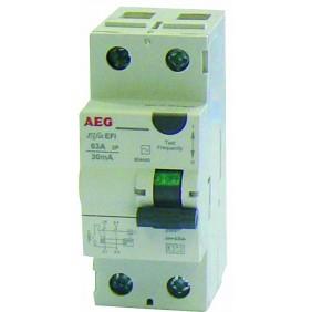Interrupteur différentiel - 63 A 30 mA AEG
