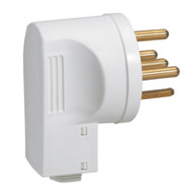 Fiche électrique 20A 3P+N+T avec serre-câbles - 055157 LEGRAND