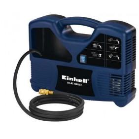 Petit compresseur 8 bars BT-AC 180 et kit d'accessoires EINHELL