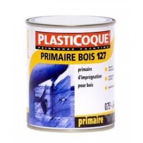 Primaire blanc pour support bois - 0,75 litre - Primaire bois 127 COMUS