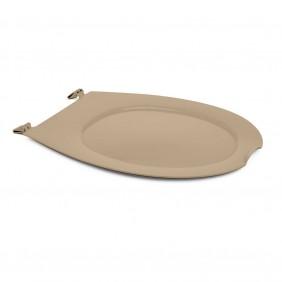 Abattant wc clipsable - 100 % hygiénique - beige PAPADO